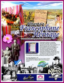 Alberta's Francophone Heritage Ad