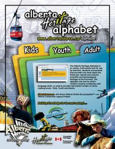 Heritage Alphabet Ad
