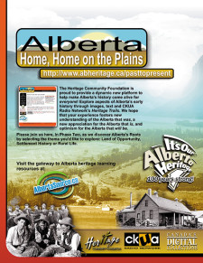 Alberta, Home, Home on the Plains Ad