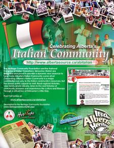 Celebrating Alberta's Italian Community Ad