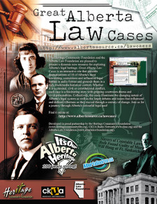 Great Alberta Law Cases Ad