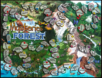 Mysteries of the Forest Game Board