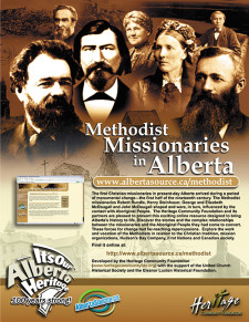 Methodist Missionaries in Alberta Ad