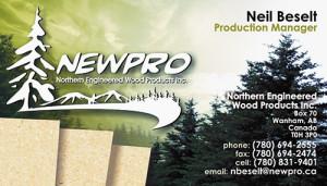 NEWPRO Business Card