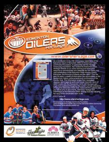 Edmonton Oilers Heritage Ad