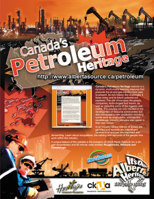 Canada's Petroleum History Ad