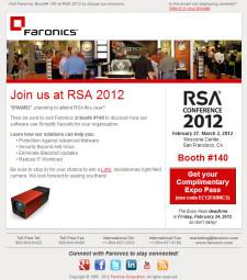 RSA Preshow Email