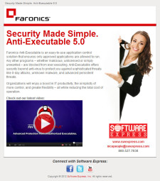 Anti-Executable Promo Video Email