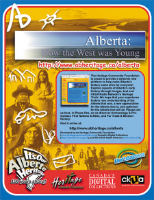 Alberta: How The West Was Young Ad