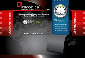 Faronics 10x10 Booth - Version 2 - Deep Freeze