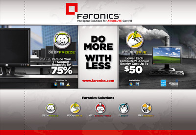 Faronics 10x10 Booth - Version 3 - Do More With Less