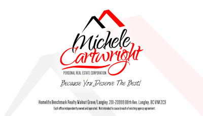 Michele Cartwright Business Card - Back