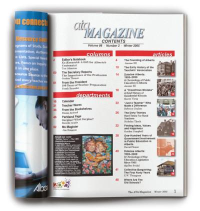 ATA-Magazine-Winter-2005-TOC