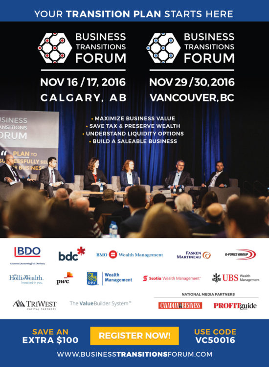 BTF - Canadian Business - Full Page Ad