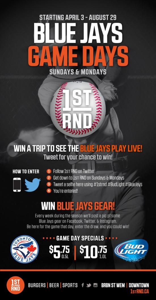Blue Jays Game Days 2016 MailChimp 600px