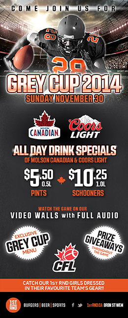 1st RND CFL Grey Cup 2014 MailChimp Email 260px