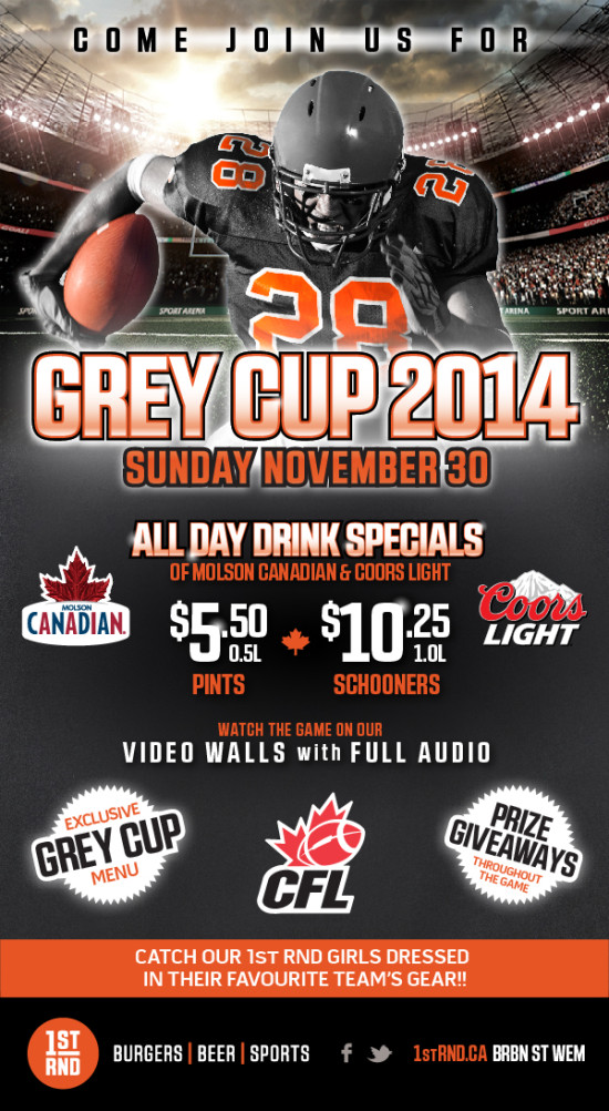 1st RND CFL Grey Cup 2014 MailChimp Email 600px