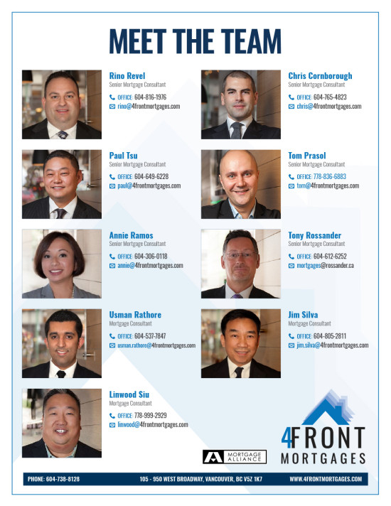 4Front Mortgages Data Sheet - Back