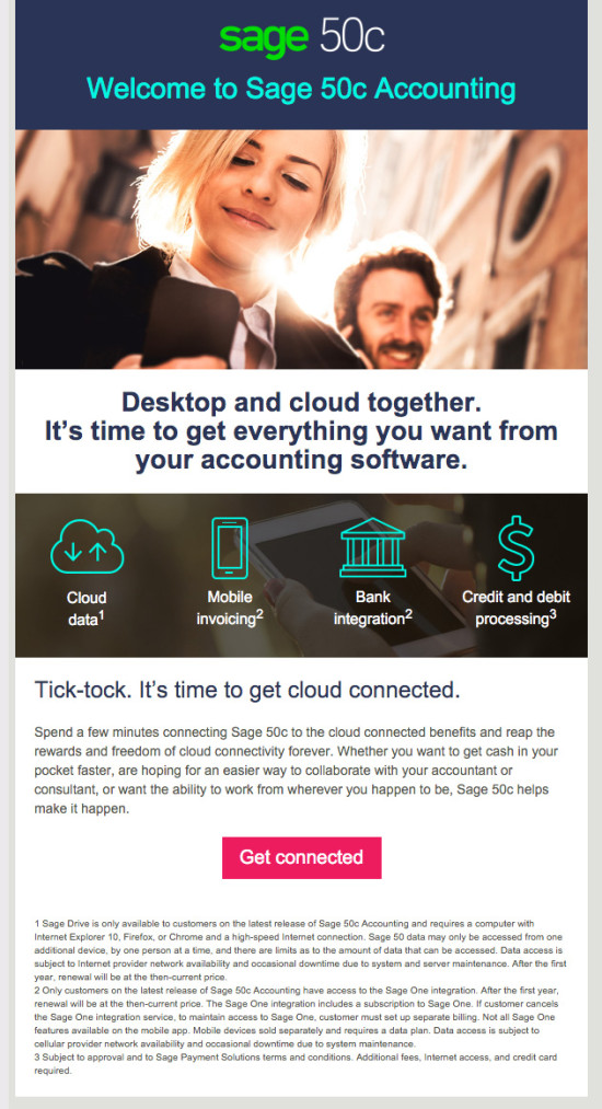 Sage50c Launch Email 1