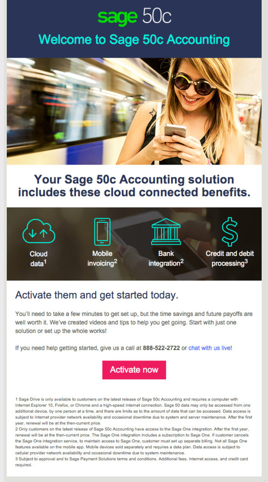 Sage50c Launch Email 2