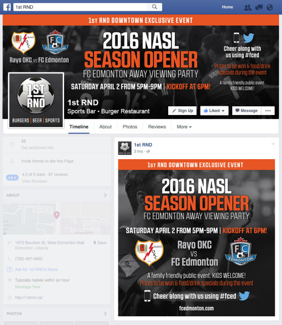 1st RND FC Edmonton Event April 2 FacebookGraphics