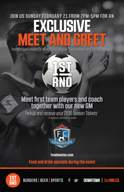 FC Edmonton Feb 21 Poster 11x17