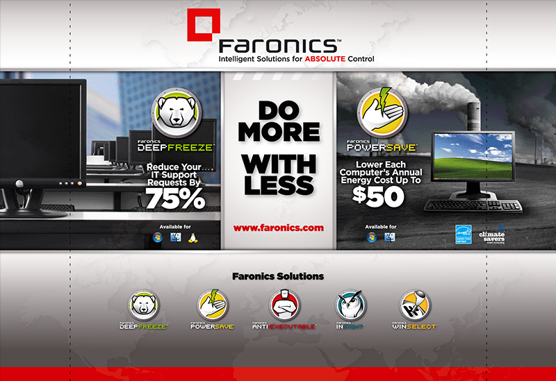 Faronics Do More With Less Booth