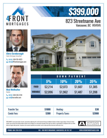4Front Mortgages Feature Sheet