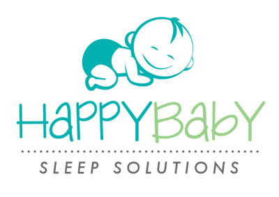 HappyBaby Sleep Solutions Logo - Vertical