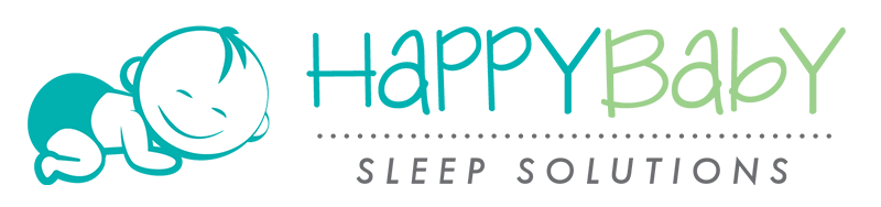 HappyBaby Sleep Solutions Logo - Horizontal