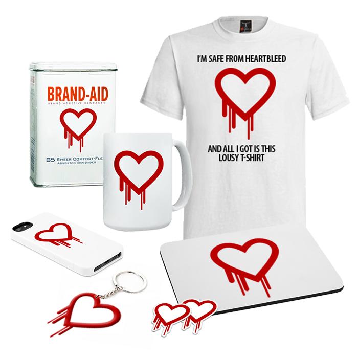Heartbleed marketing materials