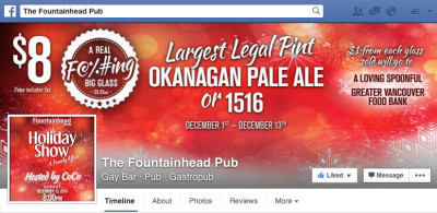 Largest Legal Pint Facebook Cover Photo