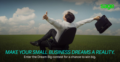 Sage Small Business Quarterly Contest Facebook Banner - Q1
