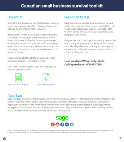 The Canadian Small Business Survival Toolkit - Pg14