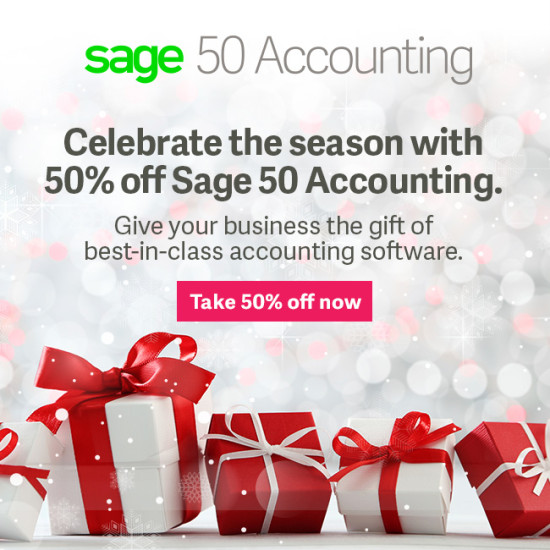 Sage50 Canada Holiday Offer Gmail Banner 650x650 EN