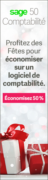 Sage50 Canada Holiday Offer Display Ad 160x600 FR