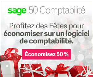 Sage50 Canada Holiday Offer Display Ad 300x250 FR