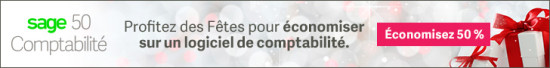 Sage50 Canada Holiday Offer Display Ad 728x90 FR