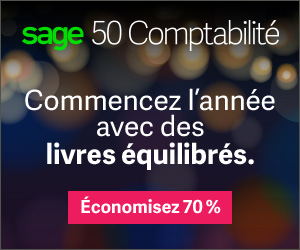 Sage 50 Canada Boxing Week Offer Display Ad 300x250 FR