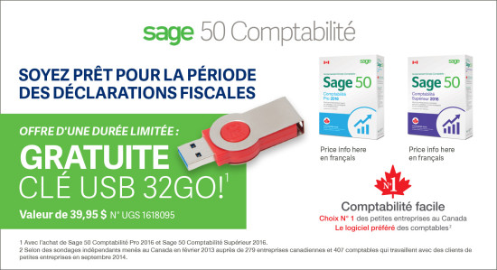 Sage 50 Accounting Ad - Staples Flyer (2S FR)