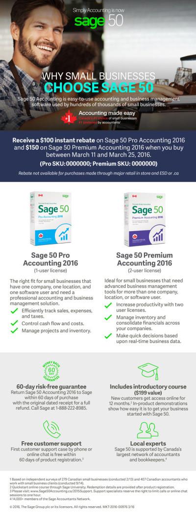 Sage 50 Synnex Email Promo Offer Ad 1 - EN