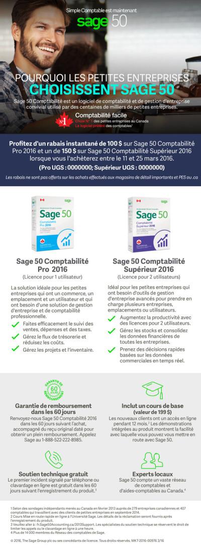 Sage 50 Synnex Email Promo Offer Ad 1 - FR