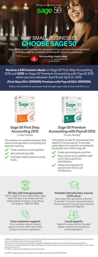 Sage 50 Synnex Email Promo Offer Ad 2 - EN