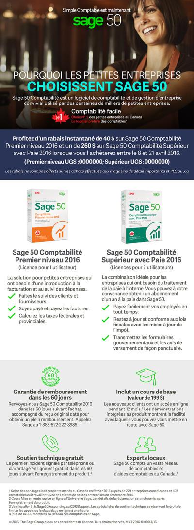Sage 50 Synnex Email Promo Offer Ad 2 - FR