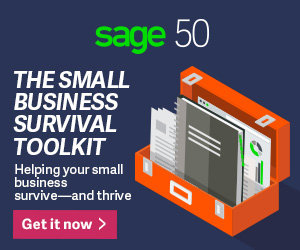 Sage 50 US - Survival Toolkit - Display Ad - 350x200