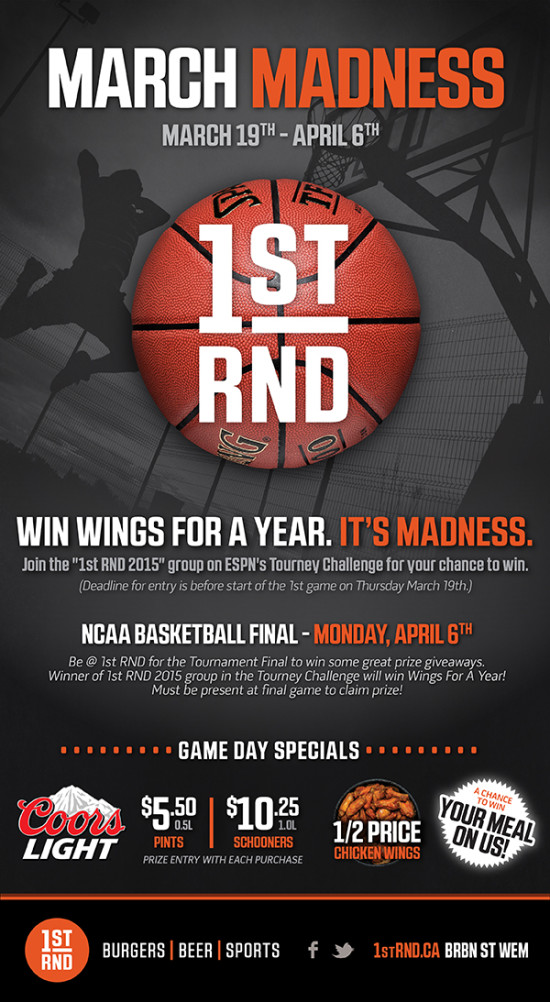 1st RND March Madness 2015 MailChimp Email 600px