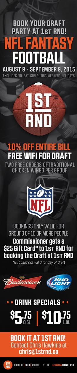 1st RND NFL Fantasy Football 2015 MailChimp Email 260px