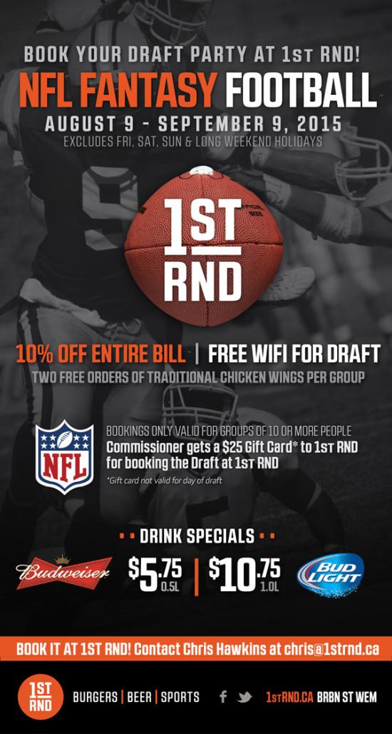 1st RND NFL Fantasy Football 2015 MailChimp Email 600px