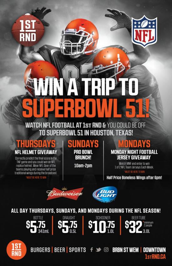 1st RND - NFL 2016 Promo Poster