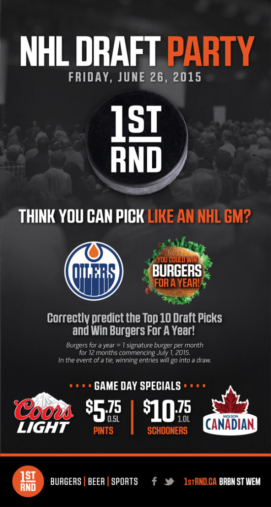 1st RND NHL Draft Party 2015 MailChimp 600px